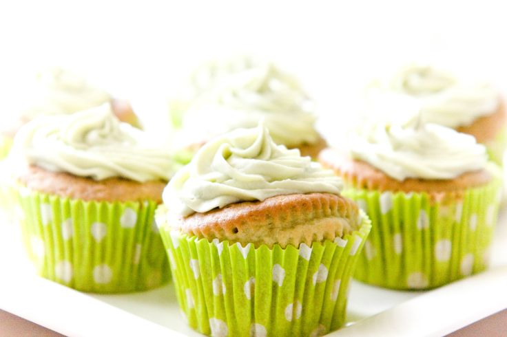 Recept: Matcha groene thee cupcakes en frosting