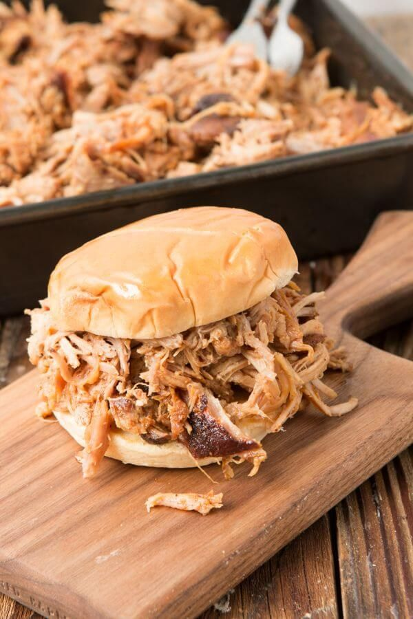World's Best Carolina Pulled Pork and the secrets to make it at home without a bbq! ohsweetbasil.com