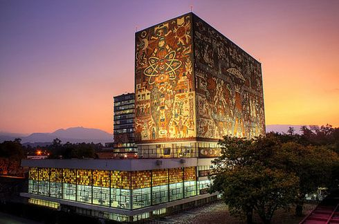 Central Library at National Autonomous University of Mexico — Mexico City, Mexico