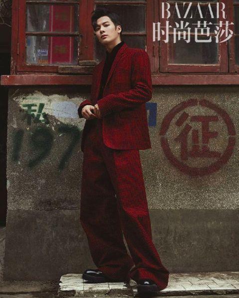 Jackson oozes sexiness in China's 'Harper's Bazaar'!   allkpop.com