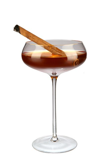 to make a use patron reposado tequila, martini rosso vermouth, pink grapefruit (pamplemousse rosé) liqueur, cinnamon sugar syrup (2:1), xocolatl mole bitters and