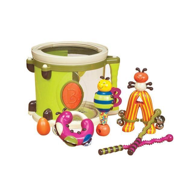 B Toys Tromme m tilbehør