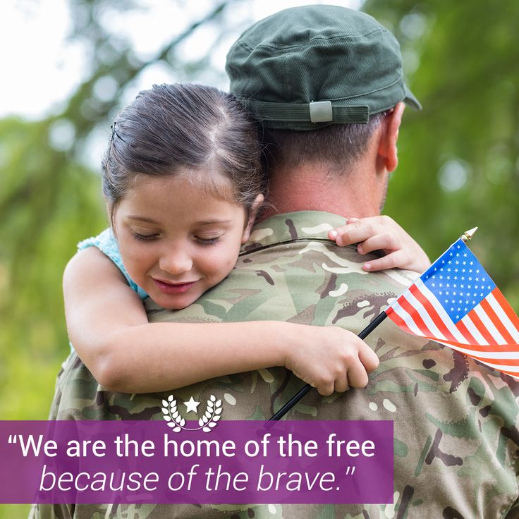 Happy Veteran's Day to all of the brave soldiers who protect and fight for our country everyday.