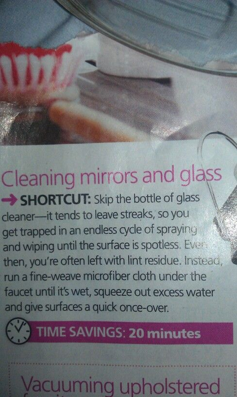14 best Mirror Care images on Pinterest Cleaning mirrors