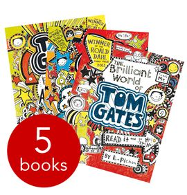 Tom Gates Collection - 5 Books (Collection): 9781407153896
