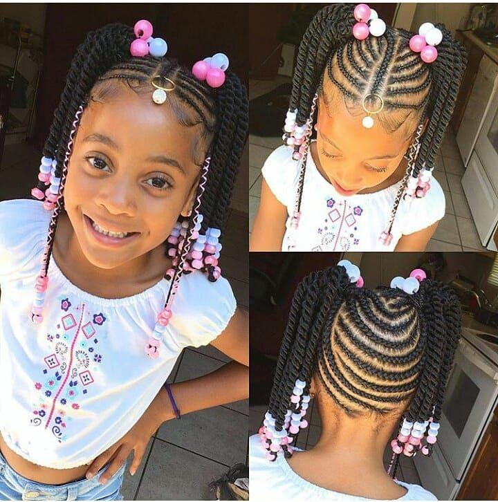 65 Best Short Hairstyles For Black Women 2018 2019 Kids Braided Hairstyles Kids Hairstyles Braids For Kids