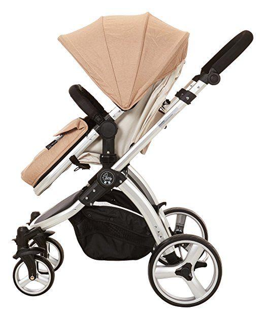 Amazon Com Elle Baby Journey Convertible Stroller Sand Baby