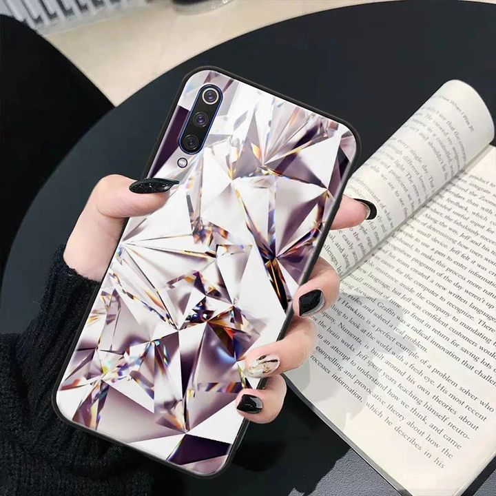 All 285 25 26 Off For Samsung Galaxy A50 Case A505 A 50 For Fundas Samsung A50 Case Cover Glass Cute Glitt Luxury Phone Case Phone Cases Pretty Phone Cases