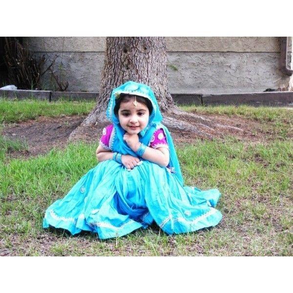 Cute Little Punjabi Girl found on Polyvore | Desi Pride ...