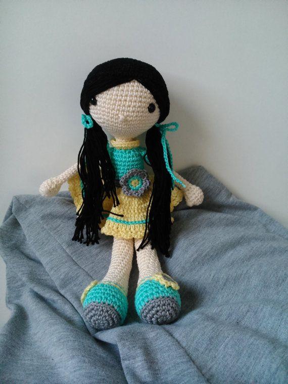 Crochet doll Linda by kaizerka on Etsy
