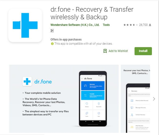 Best 5 Photo Recovery Apps For Android Deleted Photo Recovery