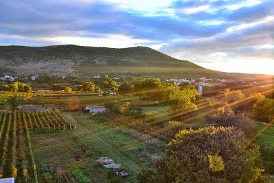 The beautiful landscape of Medjugorje - Bosnia and Herzegovina