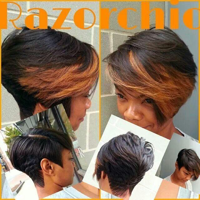 Razor Chic Hair Styles Pinterest Short Blunt Bob