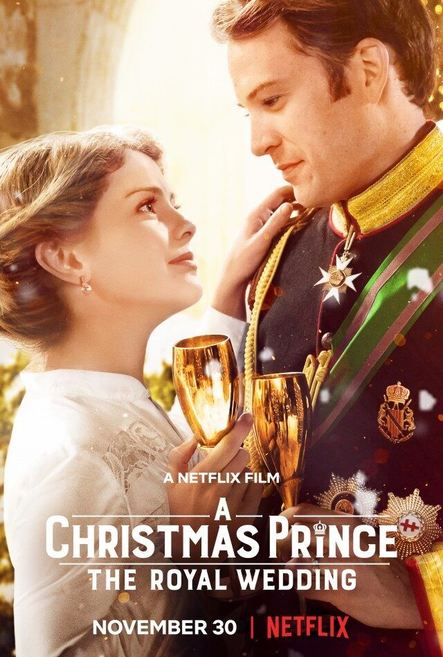 The First Trailer For A Christmas Prince The Royal Christmas Wedding Planner Trailer Royal Wedding Movie Best Christmas Movies Wedding Movies