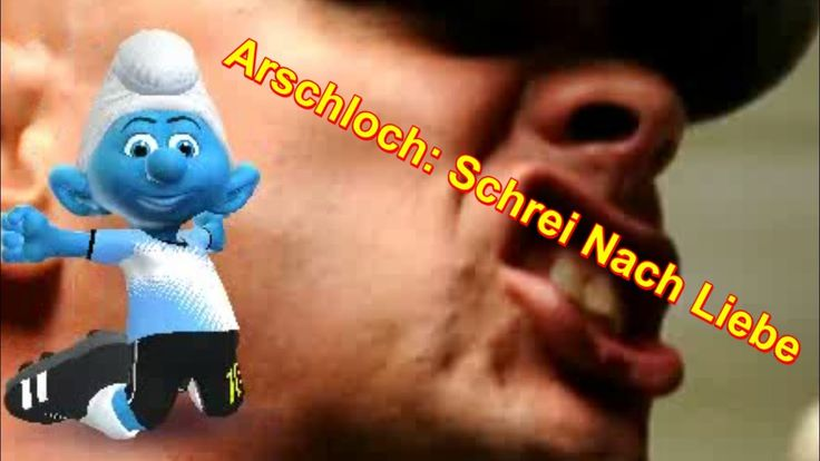 #Schlaubi #Schlumpf macht mit: Arschloch: Schrei Nach Liebe - Die Ärzte #Zoobe #Schlümpfe App | Kann man auch mit #WhatsApp verschicken :)