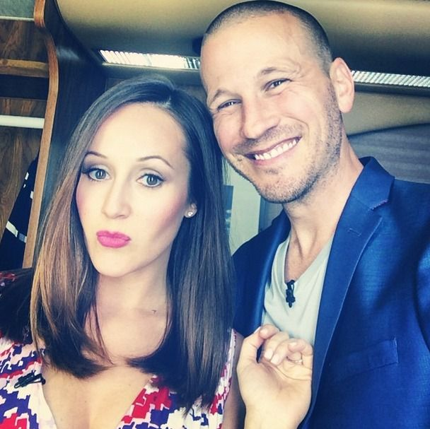 Ashley Hebert and JP Rosenbaum Take Adorable Maternity Pic — On a Boat (PHOTO) It's been DEFCON 5 around here for the past couple weeks, waiting for any news of Ashley Hebert and J.P. Rosenbaum's impending b-day: Baby day, that is. The couple are due with their first child like any second now.