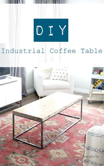 Ana White Build A Industrial Style Tabletop Building Free And Easy Diy Project And Furniture