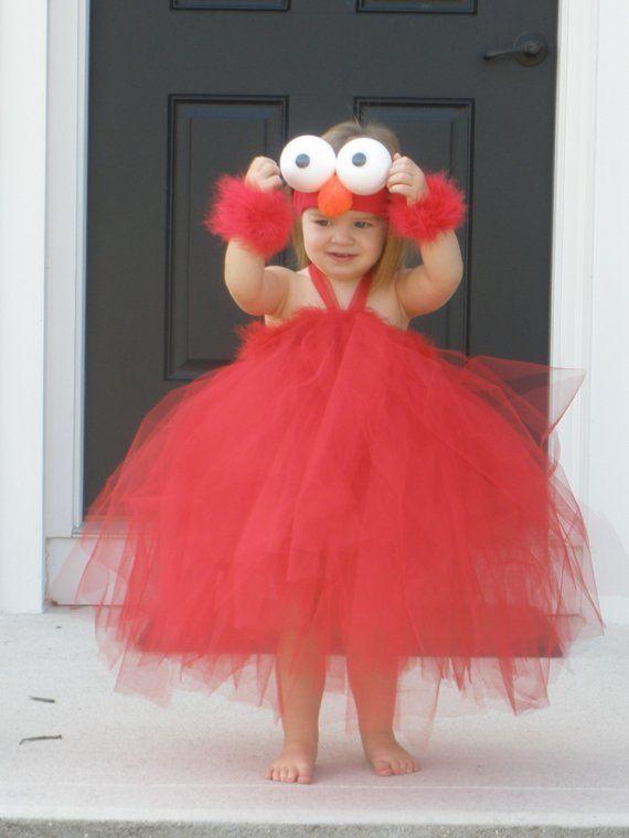 custom elmo halloween tutu dress costume photo prop by luv2bmommie - Halloween Tutu Dress