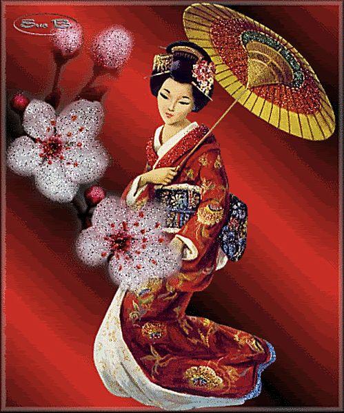 Очаровательные японки гиф картинки
