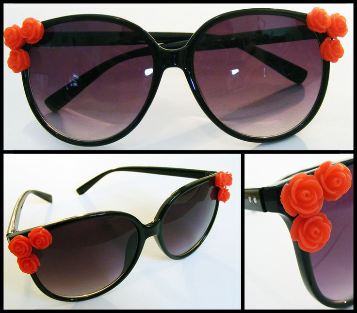 Rock n Rose: Retro-style sunnies for all you rock n rollers!