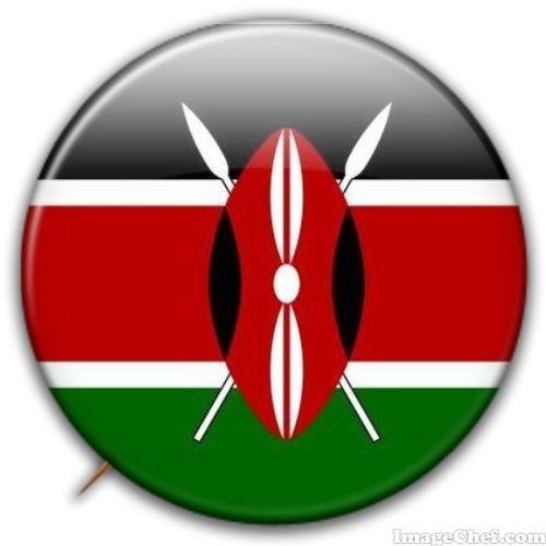 Kenya flag badge