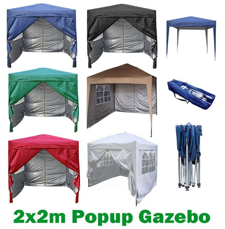 Premier 2X2m Pop-up Gazebo waterproof coating layer Marquee Canopy    eBay