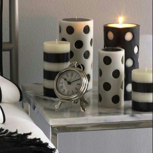 Velas para decoração