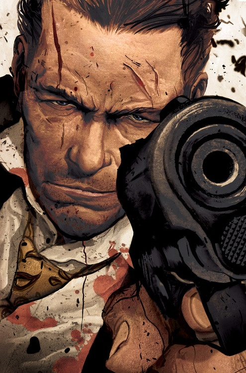 Max Payne #3 by Mike Del Mundo