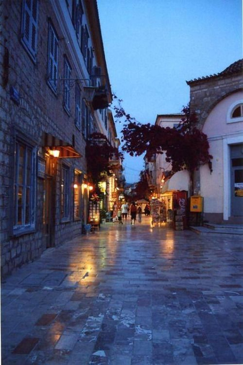 Blue hour - Twilight in Nafplion Hellas Art & Architecture