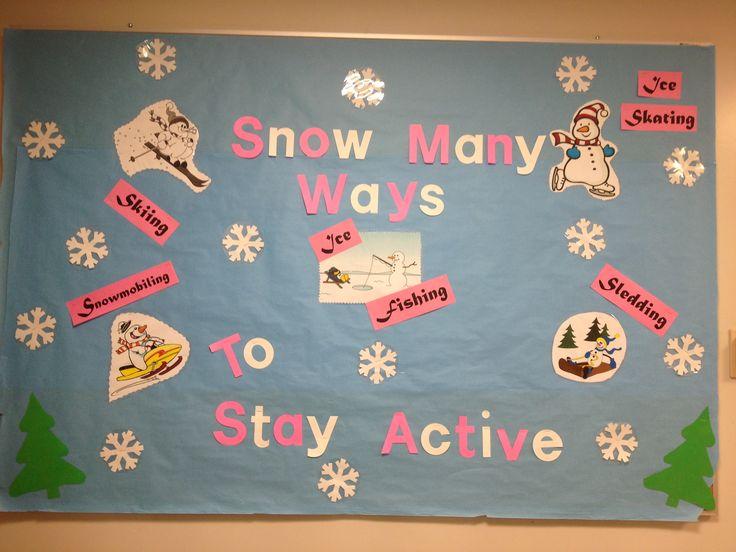 January 2013 School Nurse Bulletin Board. By: Mel