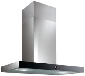 Smeg 90mm stainless steel and coloured glass wallmount rangehood (model POLARB90)  for sale at L & M Gold Star (2584 Gold Coast Highway, Mermaid Beach, QLD). Don't see the Smeg product that you want on this board? No worries, we can order it in for you!