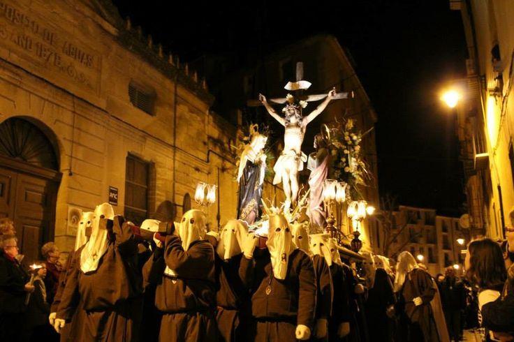 Semana santa en Alcoy Santisimo cristo agonizante