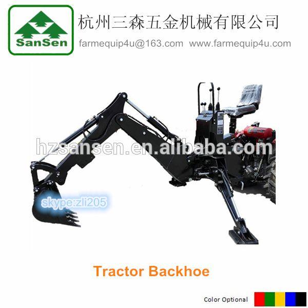 mini tractor Towable Backhoe loader,backhoe bucket, 3Point farm digging machine