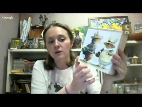 11 - УД (Лучшие из Лучших) - Аля Ашмарина - Техника 3D декупажа и объёмные изображения - YouTube