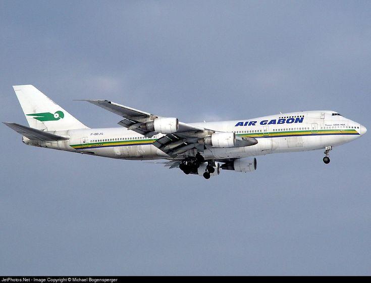 Photo of F-ODJG - Boeing 747-2Q2B(M) - Air Gabon
