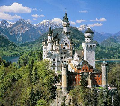 Il castello di Neuschwanstein, il castello delle favole
