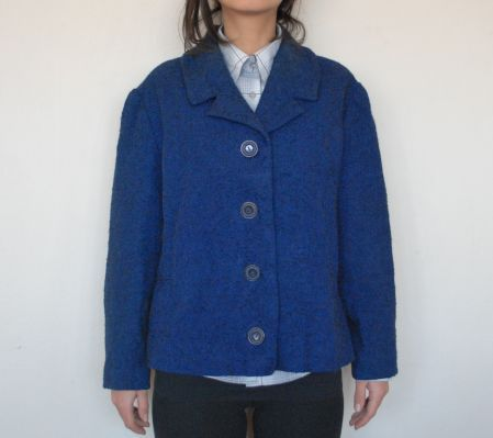 60'lar Gece Mavisi Vintage Ceket / 60's Saxe Blue Vintage Coat -80 TL http://www.opuspocusbutik.com/urun/6039lar-gece-mavisi-ceket/188614