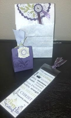 Crafting On Hat: Women's Retreat 2013, Table Favors, Retreat Gifts, Women's Retreat Ideas