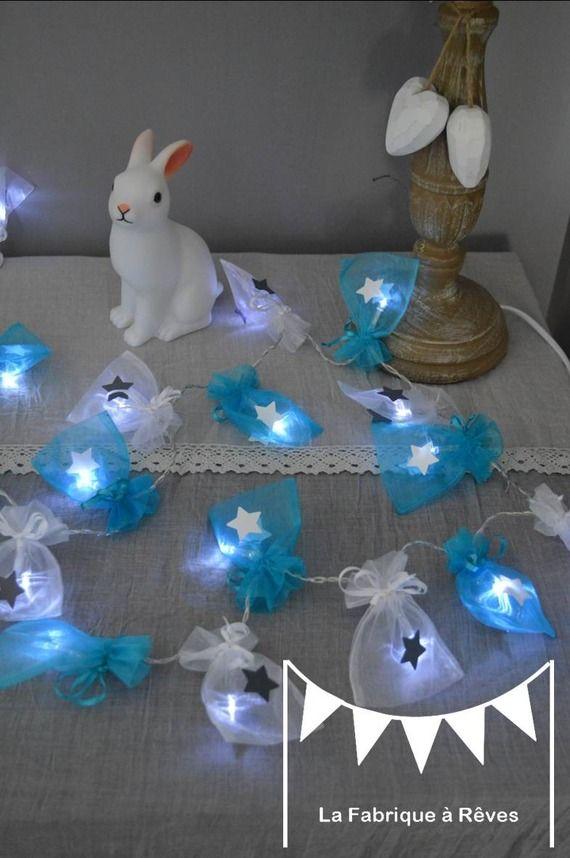 19 best Baptême Garcon images on Pinterest Baby shower parties - guirlande lumineuse pour chambre bebe
