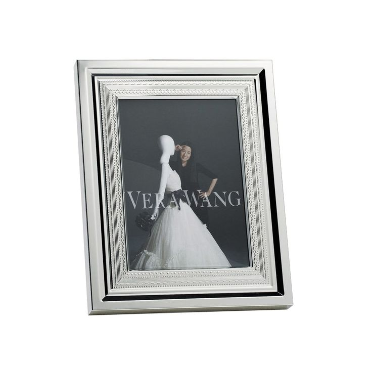 "Vera Wang Wedgwood With Love Silver Giftware Frame 4x6"" (10x15cm)"