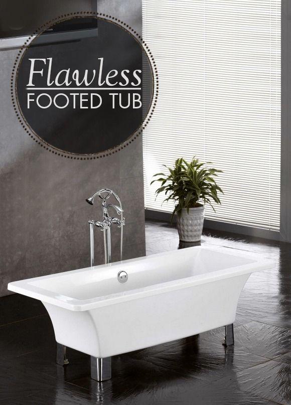 Natalie Acrylic Footed Tub. Bathtub RedoFreestanding ...