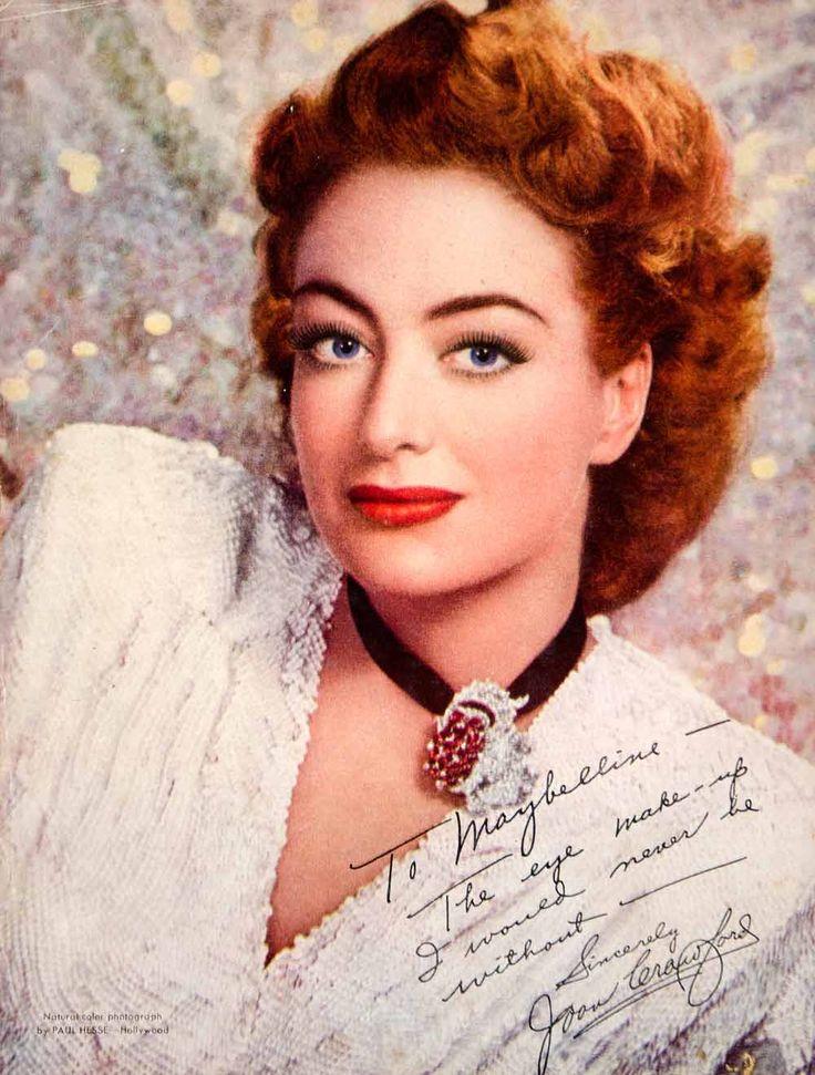 joan crawford makeup Maybelline Eye Makeup Joan