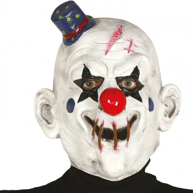 Máscara Payaso Asesino de Látex  #máscaras #antifaces