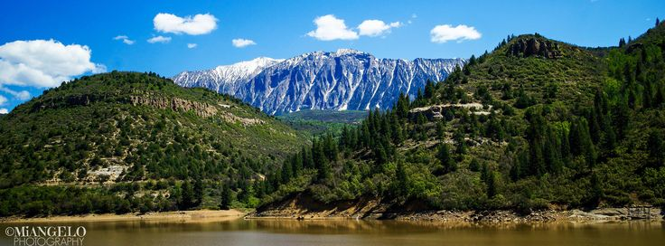 https://flic.kr/p/VRSDga   ABOVE WATERS OF FIRE MOUNTAIN CANAL   The road is filled to the brim with scenic views from the western slope of Colorado. The majesty of the west inspired great poets like Nellie Burget Miller. Enjoy her words..   Passing By  From wind-swept mesas of the West, Across the prairies set thick with corn, A silent traveler is borne Toward home---and rest.  But why do men gather along the way, Forsaking the fields with their ripened grain, To catch a glimpse of this…
