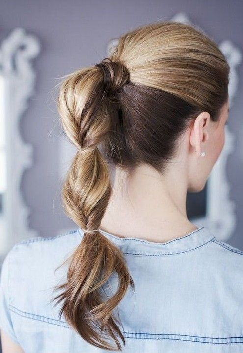 10 Cute Ponytail Hairstyles for 2014: New Ponytails to Try This Summer | PoPular Haircuts