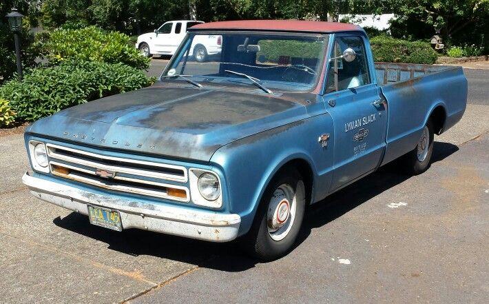 1967 Chevrolet C 10 Rat Rod shop truck