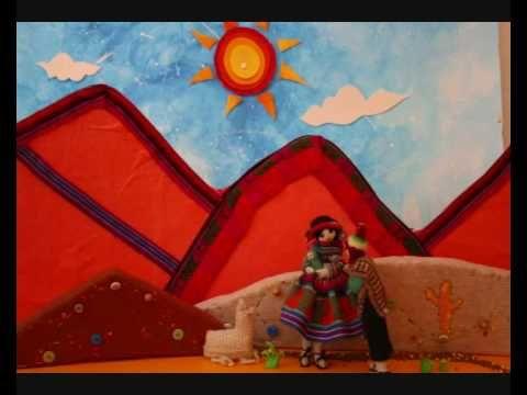 "Magdalena Fleitas - ""La Vicuñita"" (Stop Motion). Música Andina Latinoamericana - YouTube"