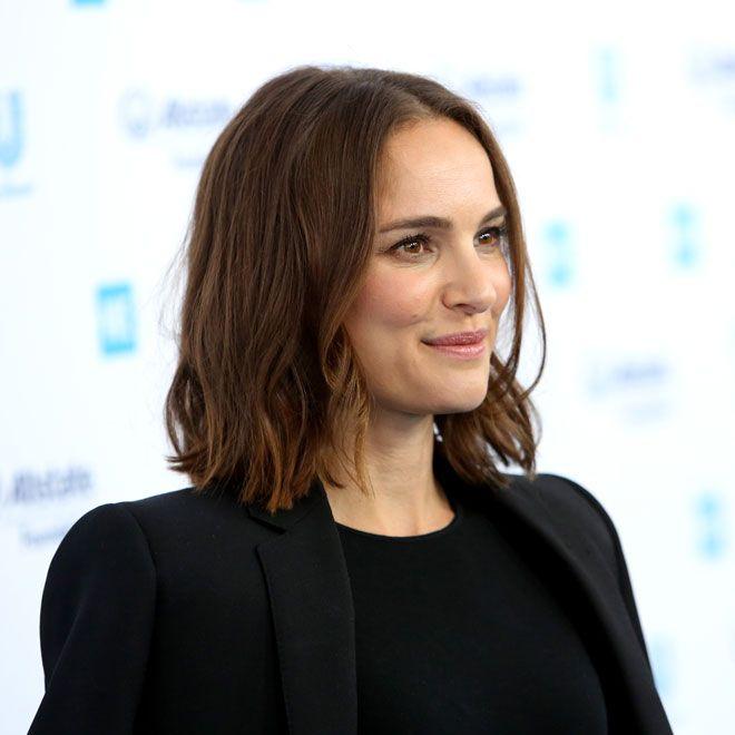 Natalie Portmans mittellange Frisuren Wer mittellange Haare hat, hat auch die Qu…