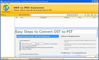 ost to pst application