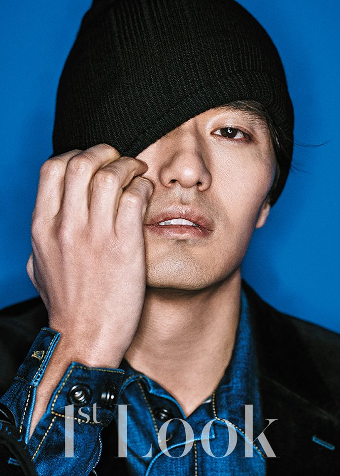 Blue Boy Lee Jin Wook For Vol. 86 Of First Look | Couch Kimchi